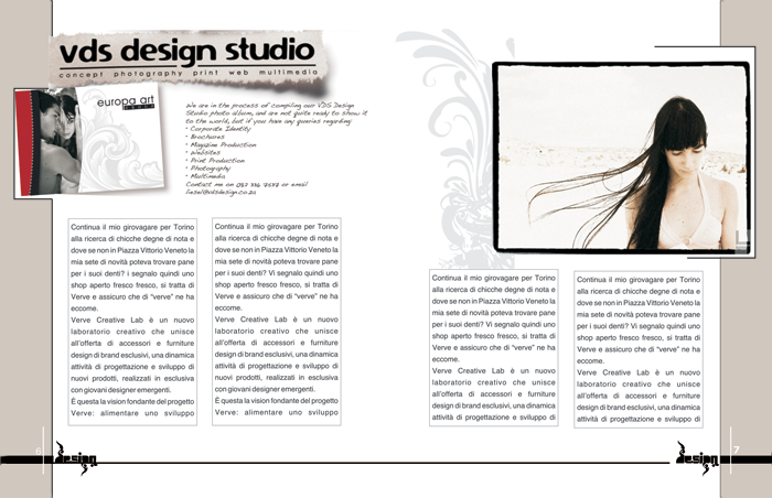 Magazine Design Alefka
